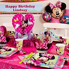 Minnie Mouse Party Decorating Ideas