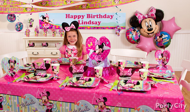 Minnie Mouse Party Ideas - Minnie Mouse Birthday Party Ideas