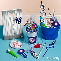 New York Yankees Party Favor Ideas