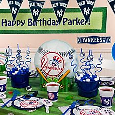 New York Yankees Party Decoration Ideas