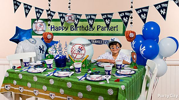 New York Yankees <br /> Party Ideas!