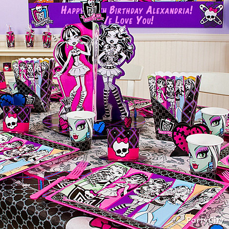 Monster High Party Ideas: Decorations