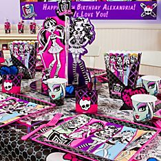 Monster High Party Decorating Ideas