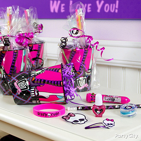Monster High Party Ideas: Favors