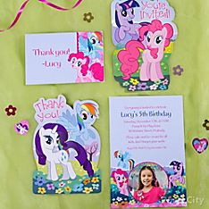 My Little Pony Party Invitation Ideas