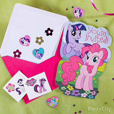 My Little Pony Ideas: Invitations