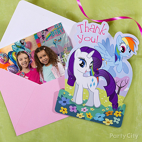 My Little Pony Party Ideas: Invitations