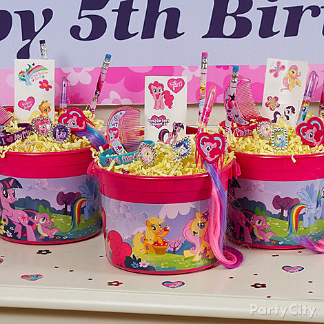 My Little Pony Ideas: Favors