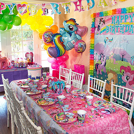 Birthday Party Ideas: My Little Pony Birthday Party Decoration Ideas