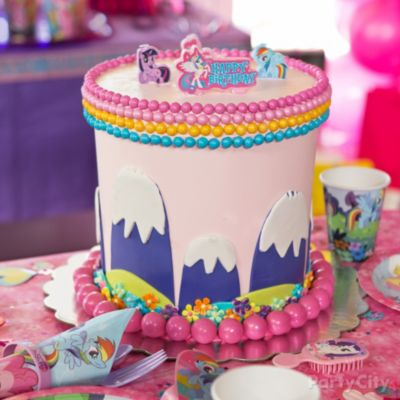 Magical My Little Pony Cake HowTo Party City