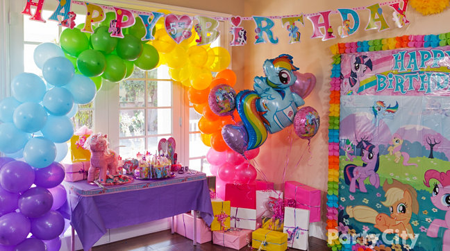 Birthday Party Ideas My Little Pony Decorations