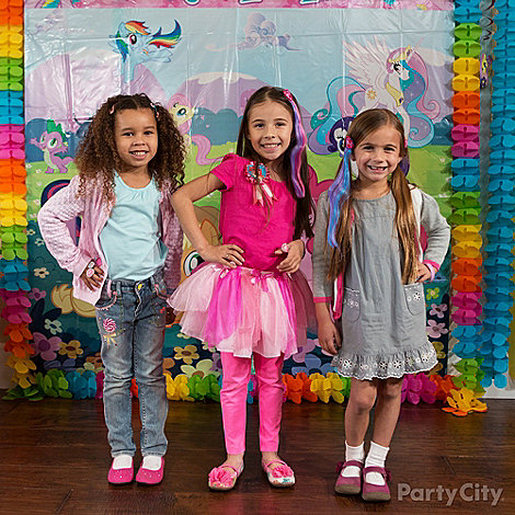 My Little Pony Party Ideas: Dress Up
