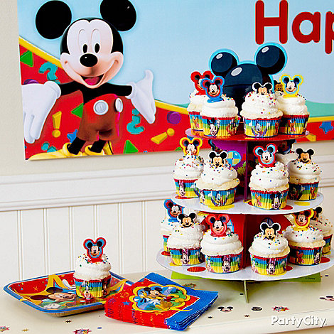 Mickey Mouse Party Ideas: Food