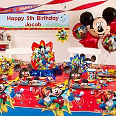 Mickey Mouse Birthday Party Ideas - Party City