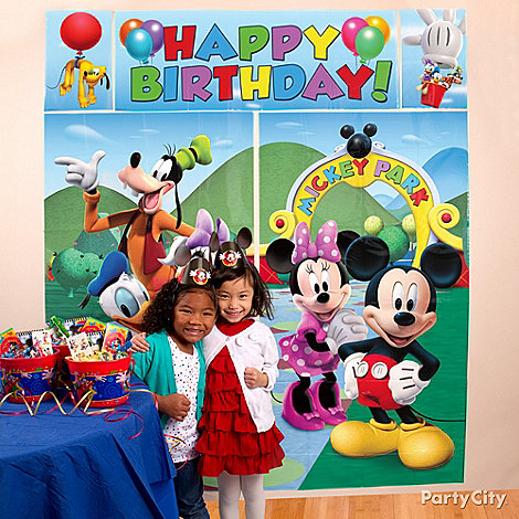 Mickey Mouse Party Ideas: Decorating