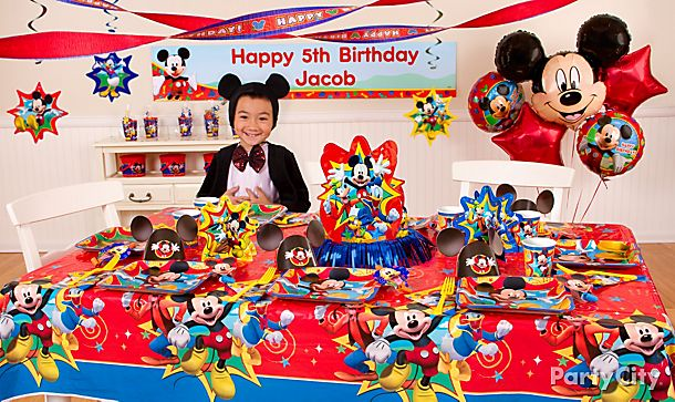 Mickey Mouse <br /> Party Ideas!