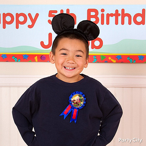 Mickey Mouse Party Ideas: Costume & Dress-Up