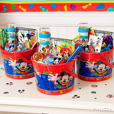 Mickey Mouse Party Ideas: Favors