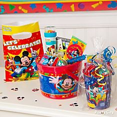 Mickey Mouse Party Favor Ideas