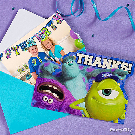 Monsters University Ideas: Invitations