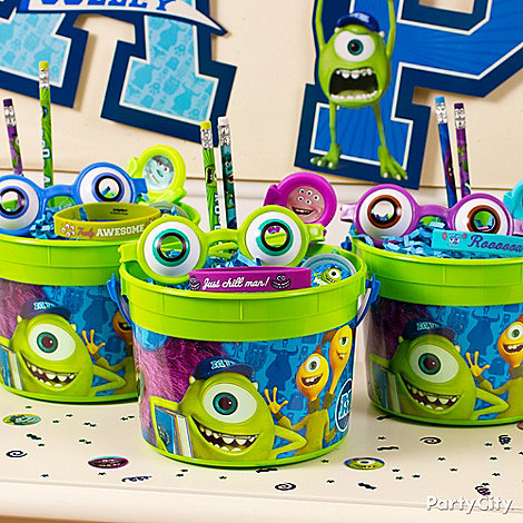 Monsters University Ideas: Favors