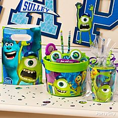 Monsters University Party Favor Ideas