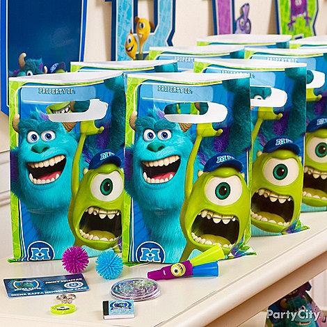 Monsters University Ideas: Favors