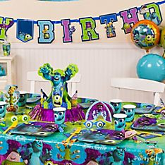 Monsters University Party Decorating Ideas