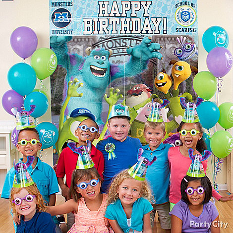 Monsters University Party Ideas: Dress Up