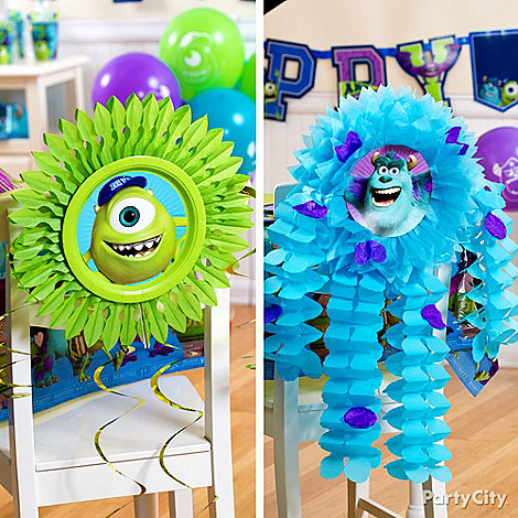 Monsters University Ideas: Decorations