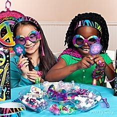 Neon Doodle Party Games & Activity Ideas