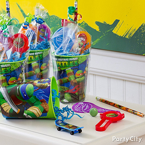 Teenage Mutant Ninja Turtles Ideas: Favors