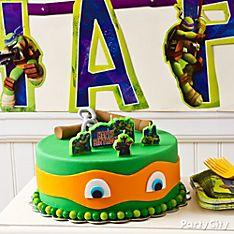 Michelangelo Birthday Cakes