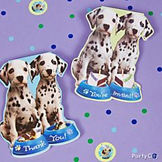 Party Pups Party Invitation Ideas