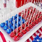 Patriotic Cake Pops How-To