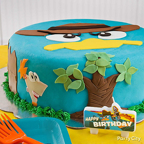 Phineas and Ferb Party Ideas: Food