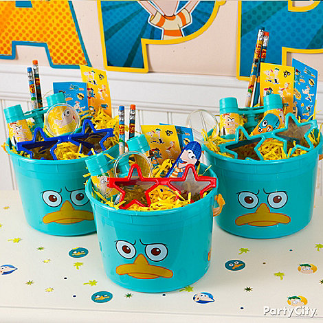 Phineas and Ferb Party Ideas: Favors