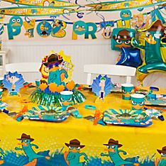 Phineas and Ferb Party Decorating Ideas