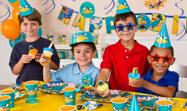 Phineas and Ferb Party Ideas