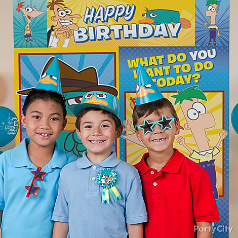 Phineas and Ferb Party Ideas: Decorating