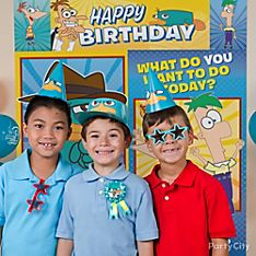 Phineas and Ferb Party Dress-Up Ideas