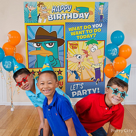 Phineas and Ferb Party Ideas: Games & Activities