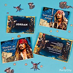 Pirates of the Caribbean Party Invitation Ideas