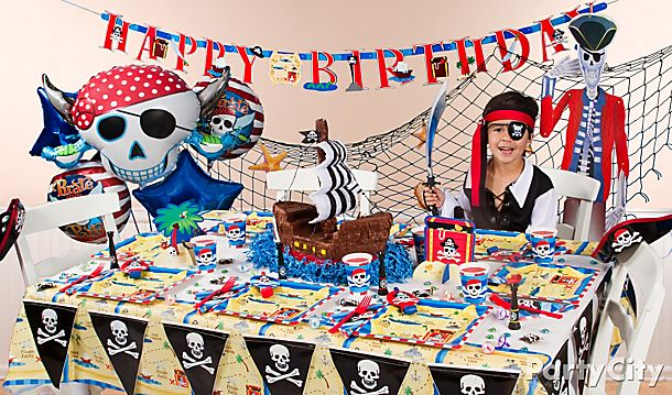 Pirate's Treasure Party Ideas!