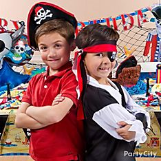Pirate's Treasure Party Dress-Up Ideas