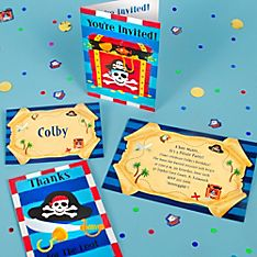 Pirate's Treasure Party Invitation Ideas