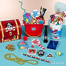 Pirate's Treasure Party Favor Ideas