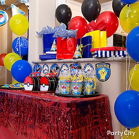 Pokemon Party Ideas Party City