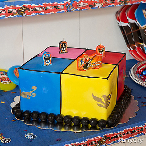 Power Rangers Party Ideas: Food