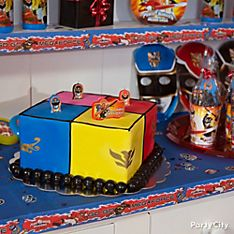 Power Rangers Party Food Ideas